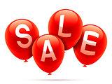 Sale balloons.