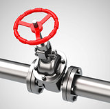 the valve