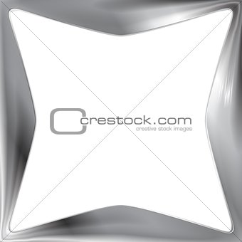 Abstract metal frame background
