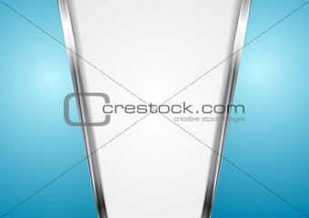 Abstract metal stripes background