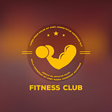 Logo for fitness club