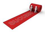People present the way to success