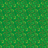 Seamless pattern mainly in green hues