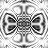 Design monochrome whirl motion background