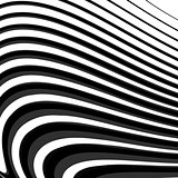 Design monochrome parallel lines background