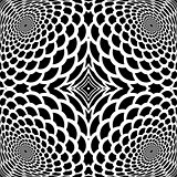 Monochrome abstract snakeskin background