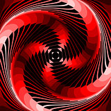 Design colorful vortex illusion background