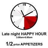 Late night happy hour for pubs