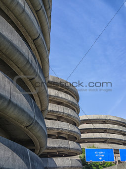 Airport parking buildings, Seattle