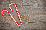 Two candy cane