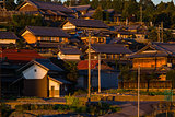 Village in Fukushima, Japan
