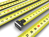 ruler meter tape background