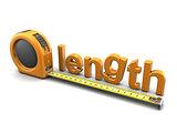 3d length meter