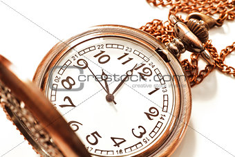 Old isolated watch