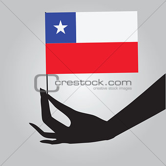Flag of the State of Chile