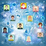 Christmas Social Network
