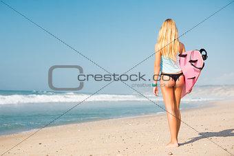 Blode surfer Girl