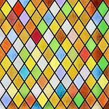 colorful abstract stained glass window background