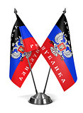 Donetsk People's Republic - Miniature Flags.