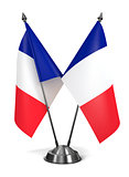 France - Miniature Flags.