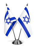 Israel - Miniature Flags.