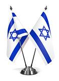 Israel - Miniature Flags.