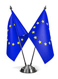 European Union - Miniature Flags.
