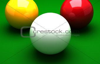 Three Ball Billiard