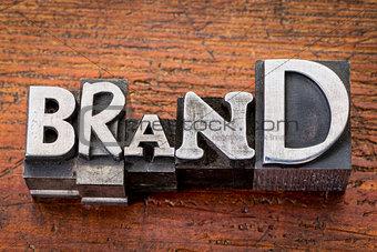 brand iword n metal type