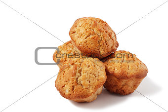 four muffins
