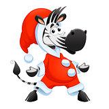 Funny Christmas character