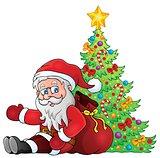 Image with Santa Claus theme 2