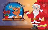 Santa Claus indoor scene 9