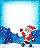 Santa Claus walk theme 3