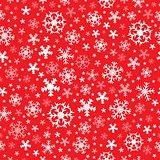 Seamless background snowflakes 7