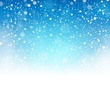 Snow theme background 8