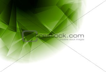 Abstract triangles geometry design