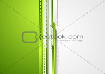 Abstract bright technology striped background