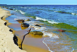 Beautiful Baltic sea coast
