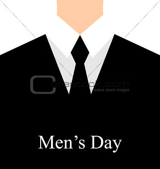 Celebration card for International man's day