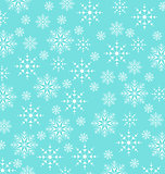 Christmas blue wallpaper, snowflakes texture