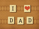 Fathers day tiles