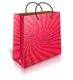 Gift bag isolated