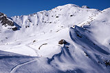 Ski pistes in Mayrhofen