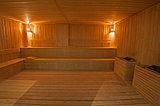 Large sauna in health spa
