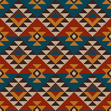 Traditional Tribal Aztec Seamless Pattern