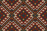 Traditional Tribal Aztec Seamless Pattern
