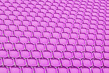 Purple seat in sport stadium