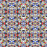 Design colorful seamless mosaic pattern