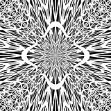 Monochrome abstract perspective background